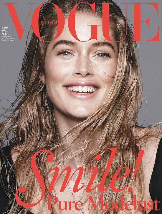 Plejada modelek na okładkach Vogue Germany