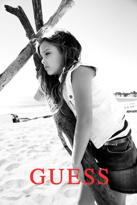 Córka Anny Nicole Smith w kampanii Guess
