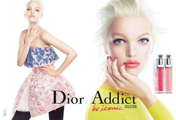 Daphne Groeneveld  w kampanii Diora