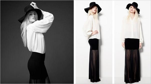 Daphne Groeneveld w kampanii H&M Glam