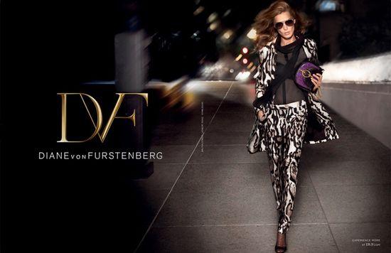 Daria Werbowy dla Diane von Furstenberg (FOTO)