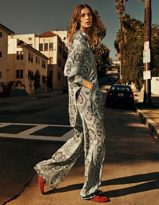 Daria Werbowy prezentuje wiosenne nowości od H&M