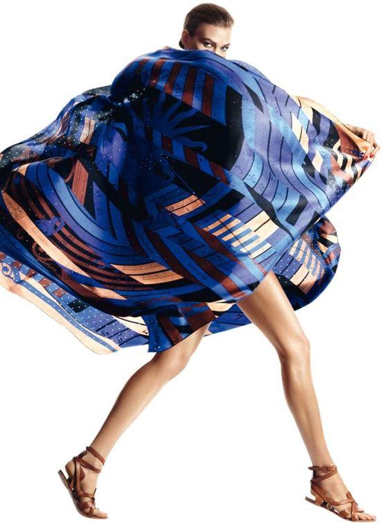 Karlie Kloss w kampanii Hermes