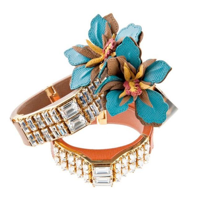 Wiosenna biżuteria od Prady (FOTO)