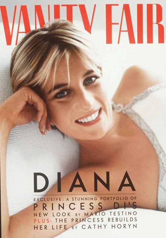 Okładki z księżną Dianą