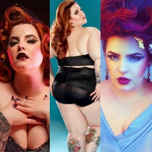 Tess Munster Holliday - blogerka modowa plus size