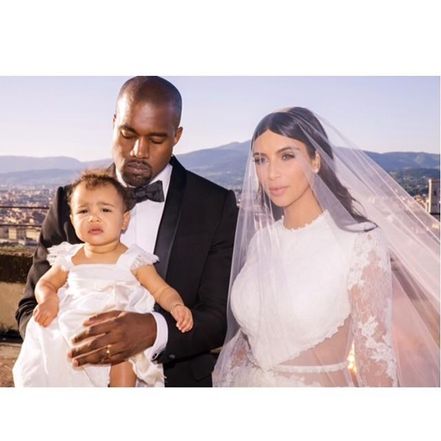 Ślubna stylizacja Kim Kardashian