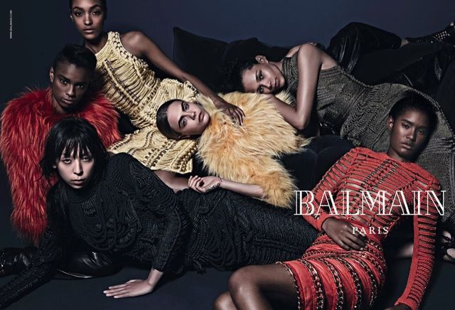 Cara Delevingne w kampanii Mulberry, Chanel i Balmain na jesień-zimę 2014