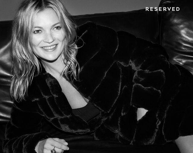 Reserved x Kate Moss - kampania na jesień/zimę 2017
