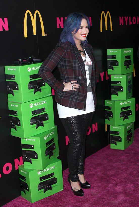 Demi Lovato wciąż chętnie eksperymentuje z kolorem (FOTO)
