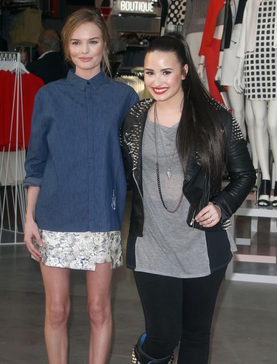 Demi Lovato i Kate Bosworth w projektach Topshop (FOTO)