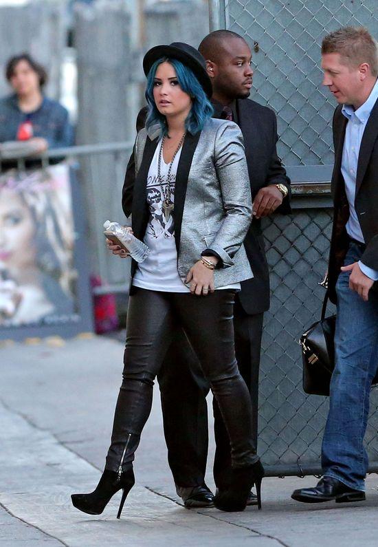 Demi Lovato pokochała swój nowy kolor włosów