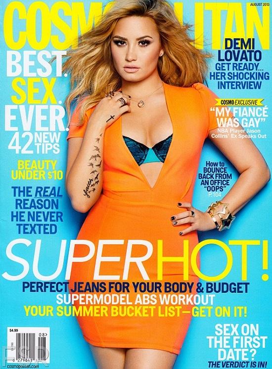 Demi Lovato na dwóch sierpniowych okładkach