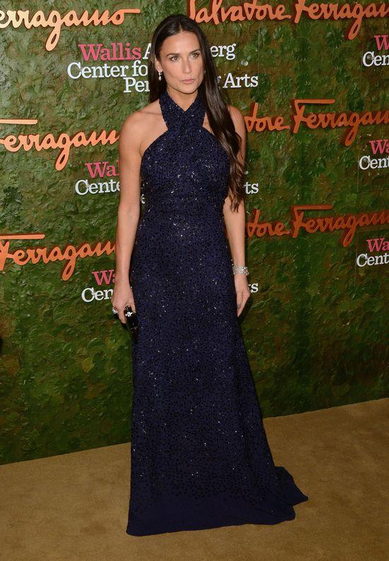 Demi Moore w wieczorowej sukni (FOTO)