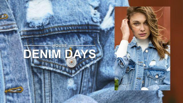 Denim Days, czyli jeans w roli głównej w najnowszym lookbooku od House (FOTO)