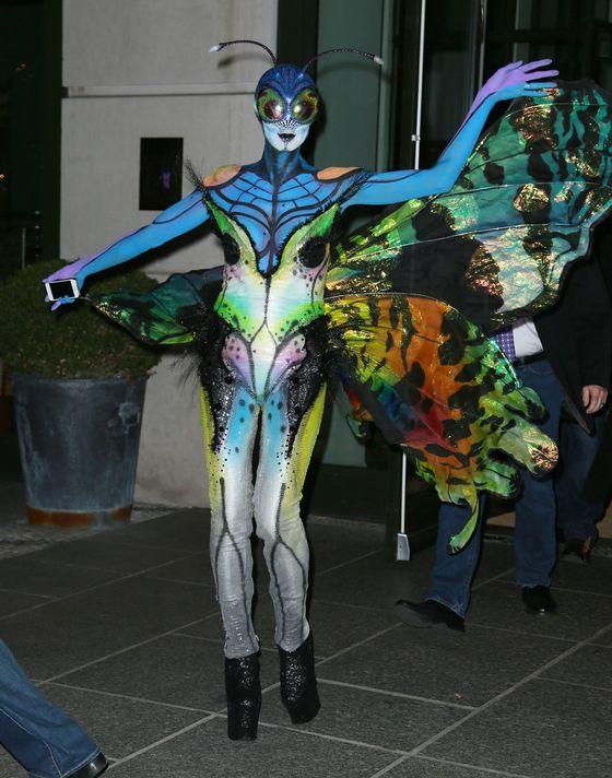 Halloweenowe przebrania Heidi Klum