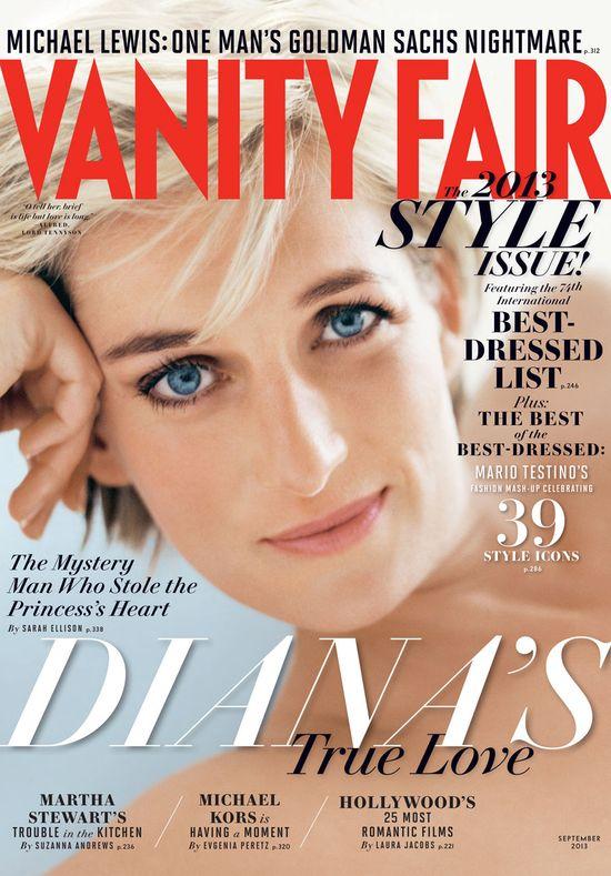 Diana na okładce sierpniowego Vanity Fair