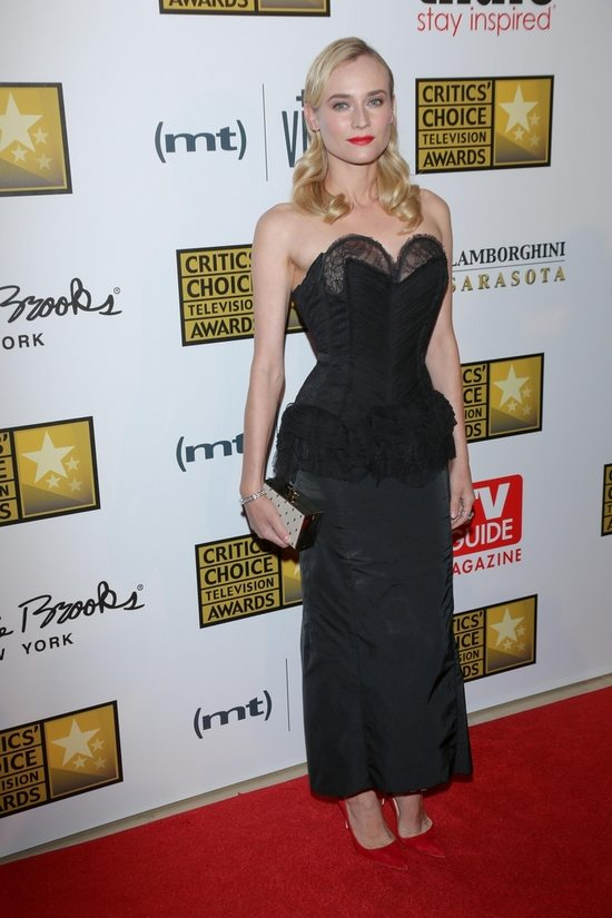 Diane Kruger w sukni Niny Ricci (FOTO)