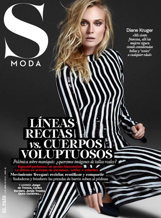 Diane Kruger na okładce S Moda