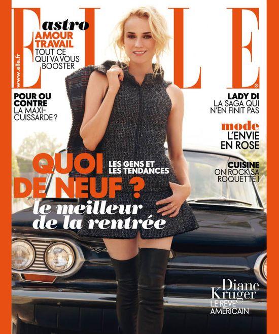 Jak dba o urodę Diane Kruger / Elle