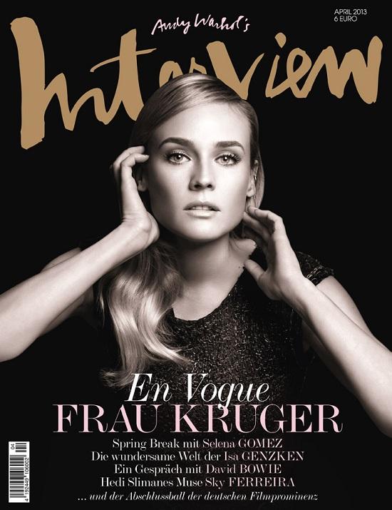 Diane Kruger  & Sky Ferreira na okładkach Interview Germany