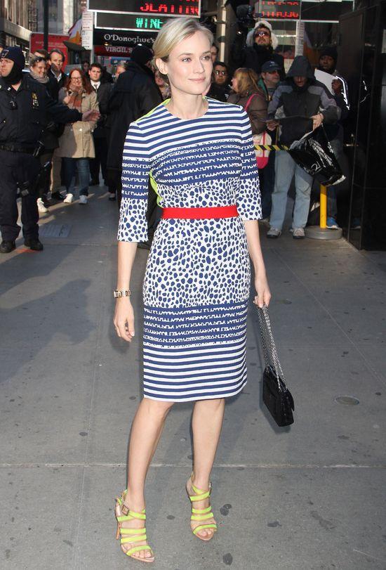 Diane Kruger w sukience z niespodzianką (FOTO)