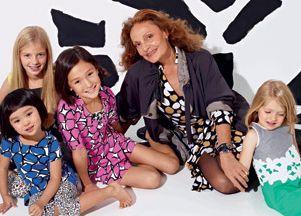 Diane von Furstenberg projektuje dla dzieci (FOTO)