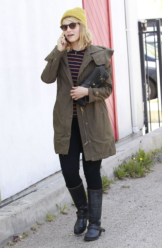 Dianna Agron w parce i lenonkach (FOTO)