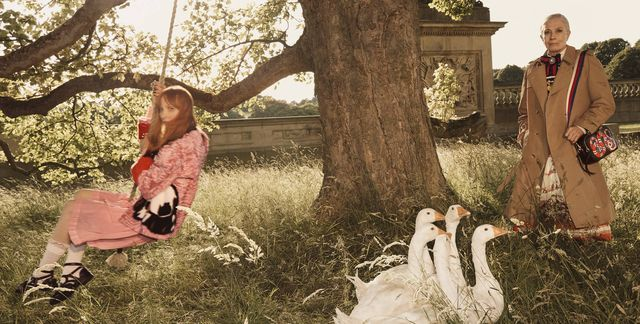 Życie na wsi wg Gucci - zobaczcie zdjęcia z najnowszej kampanii! (FOTO)