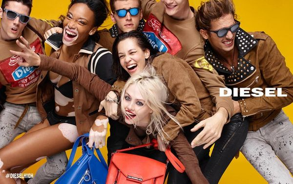 Modelka z bielactwem gwiazdą kampanii Diesel (FOTO)
