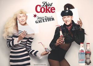 Jean Paul Gaultier dla Diet Coke (FOTO+VIDEO)