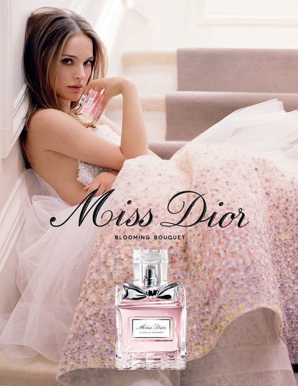 Natalie Portman w kampanii Miss Dior Blooming Bouquet (FOTO)