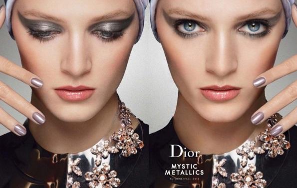 Daria Strokous w kampanii Dior Beauty jesień-zima 2013/14