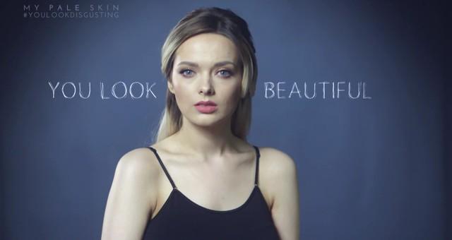Wyglądasz obrzydliwie - z trądzikiem i bez makijażu - VIDEO
