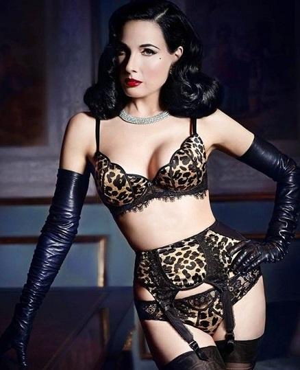 Dita Von Teese i jej seksowna kolekcja bielizny (VIDEO)