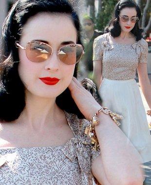 Dita Von Teese - królowa perfekcji (FOTO)