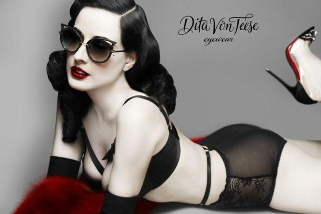 Co powiecie na okulary od Dity Von Teese?