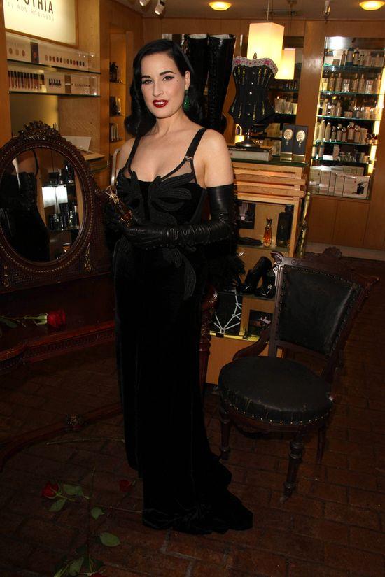 Dita von Tesse zachwyca na premierze swoich perfum (FOTO)