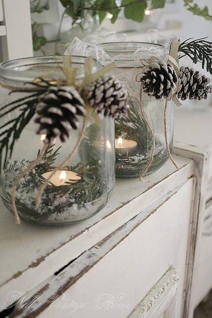 Piękne, proste i efektowne dekoracje DIY na Święta
