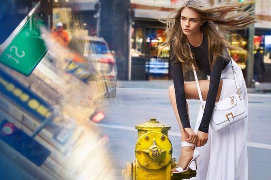 Cara Delevingne dla DKNY - pełna odsłona kampanii (FOTO)