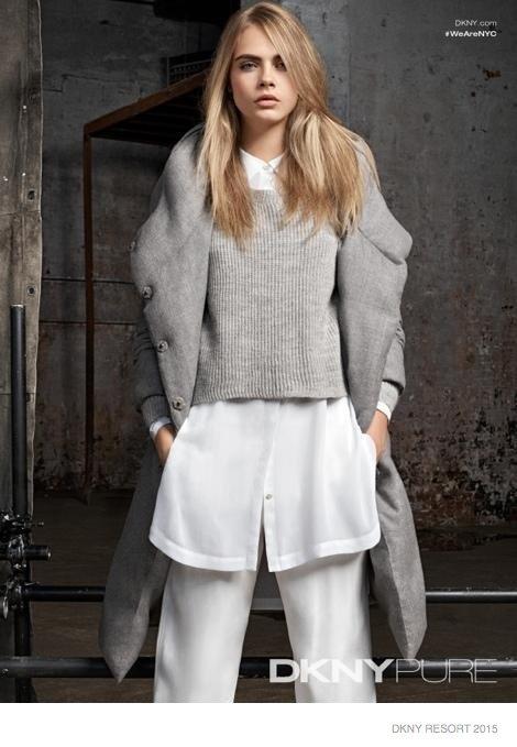 Cara Delevingne dla DKNY - kolekcja Resort 2015 (FOTO)