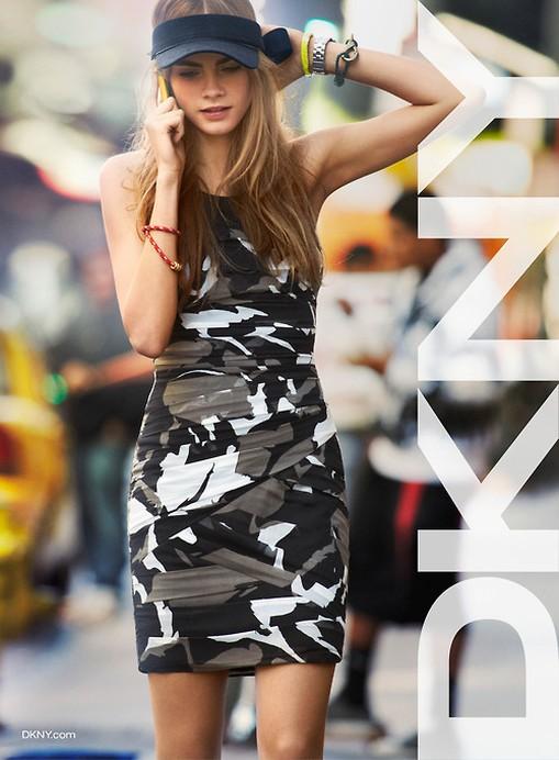 DKNY wiosna-lato 2013