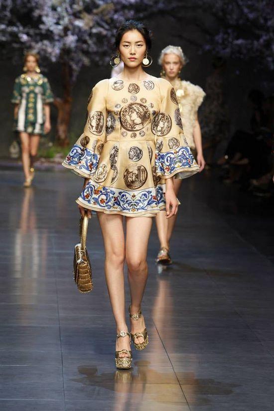 Dolce&Gabbana na wiosnę-lato 2014