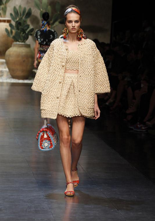 Kolekcja Dolce&Gabbana wiosna-lato 2013