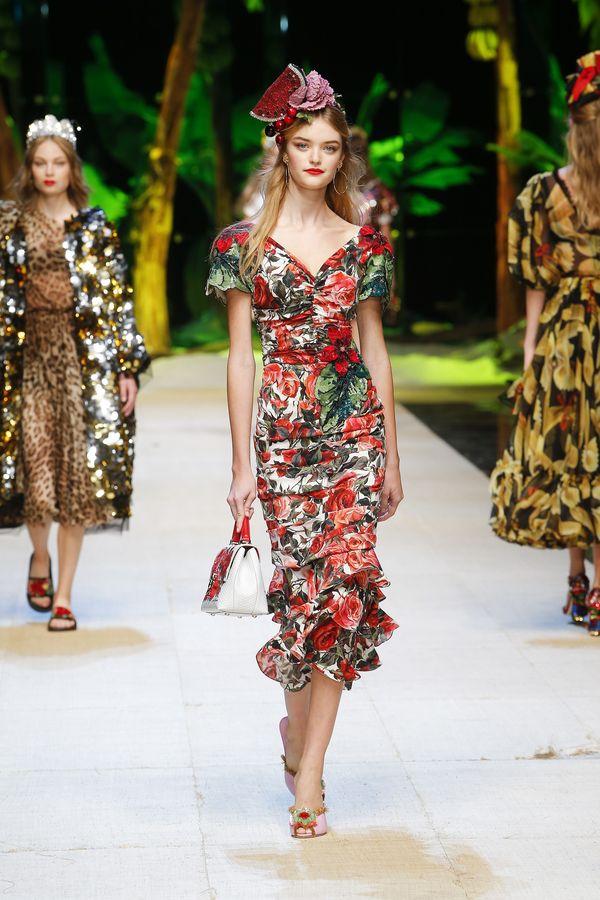 Zobaczcie obłędną kolekcję na wiosnę/lato 2017 od Dolce&Gabbana