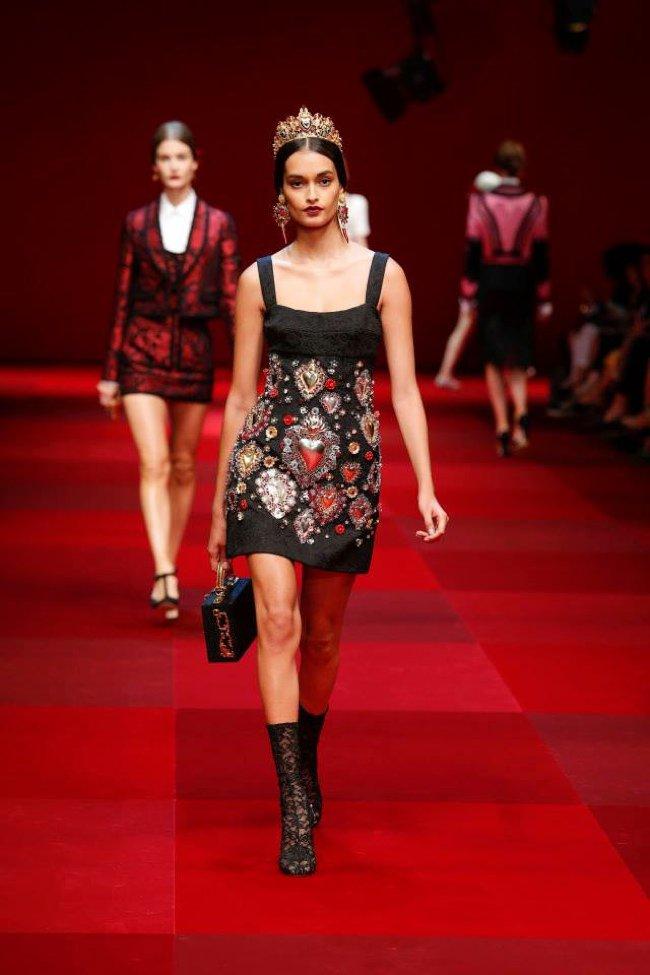Dolce & Gabbana na wiosnę 2015 (FOTO)