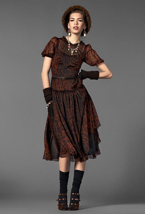 Lookbook Dolce&Gabbana kolekcja Barocco jesień-zima 2012/201