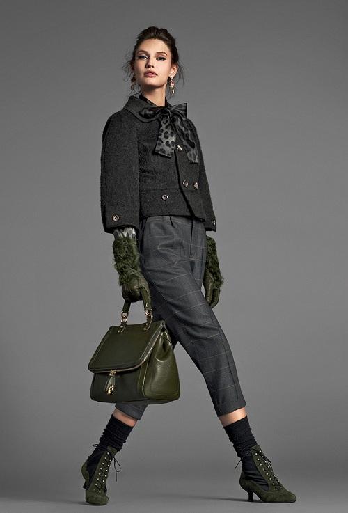 Lookbook Dolce&Gabbana kolekcja Barocco jesień-zima 2012/13