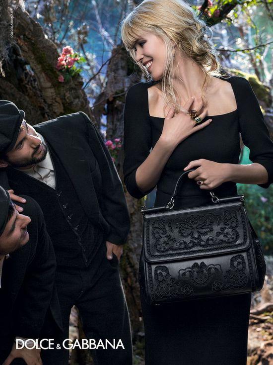 Claudia Schiffer gwiazdą kampanii Dolce & Gabbana (FOTO)
