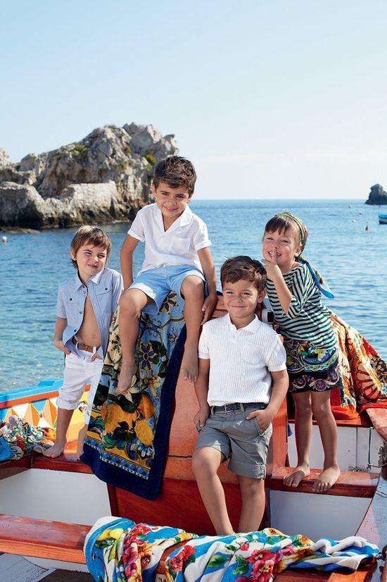 Nowa odsłona dziecięcej kolekcji Dolce & Gabbana